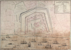 An Exact Plan of the Tower of London 1725